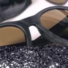 occhiali da sole reti da pesca