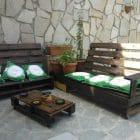 Pallet giardino