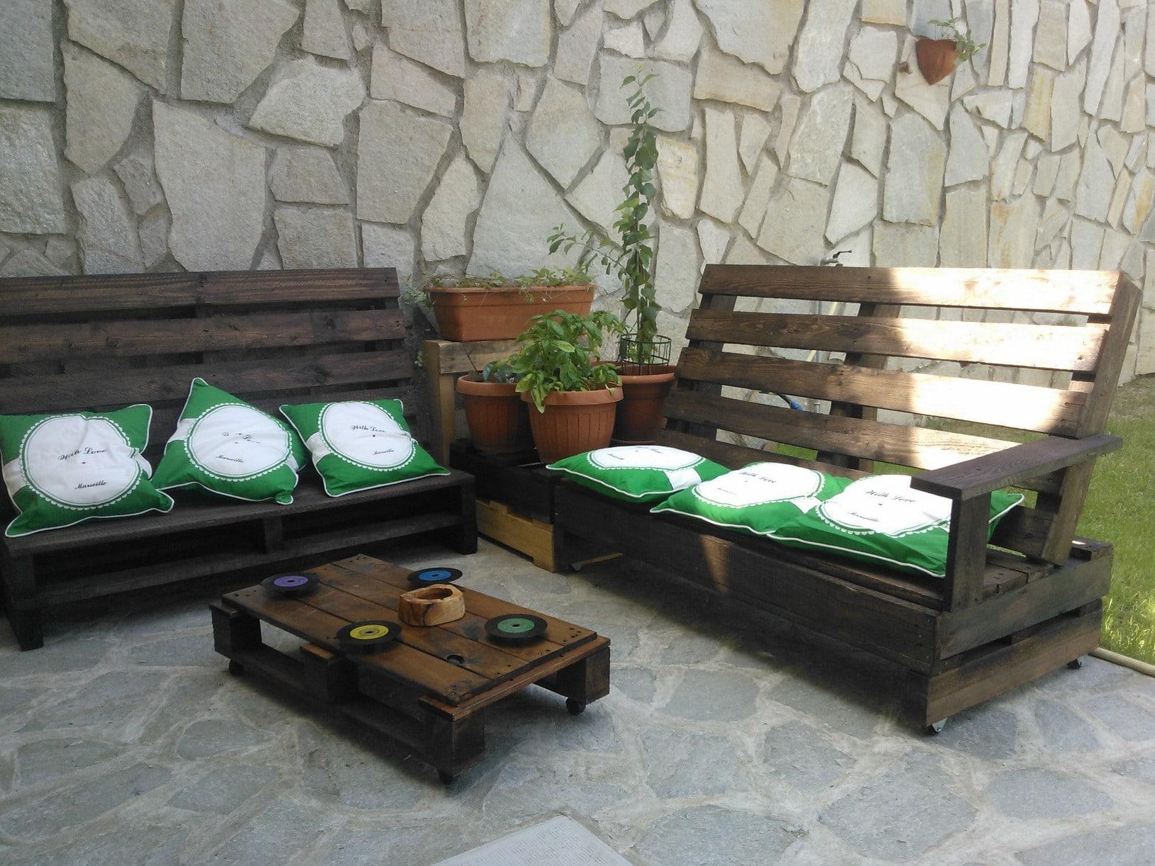 Mobili Da Giardino Con Pallet arredo da giardino, idee sostenibili e low cost - scegliere